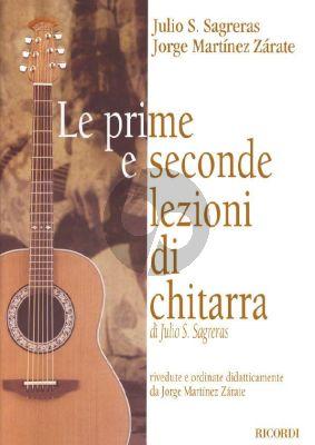 Sagreras Prime e Seconde Lezioni di Chitarra (Jorge Martinez Zarate)