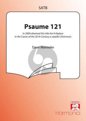 Manneke Psaume 121 Je lève mes yeux SATB