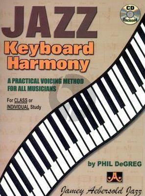 DeGreg Jazz Keyboard Harmony Bk-Cd