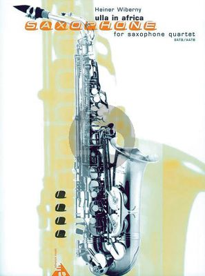 Wiberny Ulla in Afrika 4 Saxophones