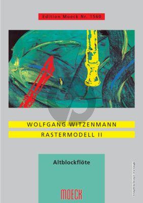 Witzenmann Rastermodell II fur Altblockflote Solo