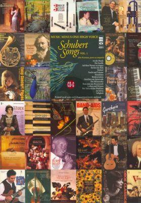 Schubert German Lieder Vol.1 (High Voice) (Bk-Cd)