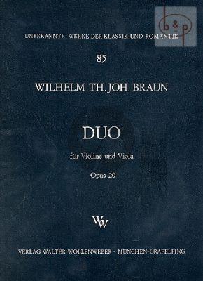 Duo F-major Op.20