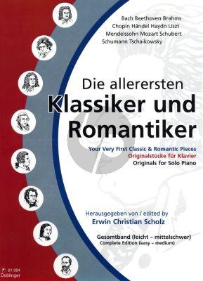 Die allerersten Klassiker Komplett (Vol.1-3) Klavier