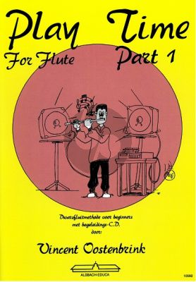 Oostenbrink Play Time for Flute Vol.1 (Boek-Cd)