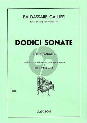 Galuppi 12 Sonatas Cembalo (Iris Caruana)