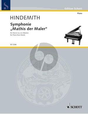 Symphonie Mathis der Maler (Klavier 4 Hande)