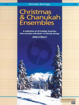 Christmas & Chanukah Ensembles for Cello (John O'Reilly)