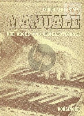 Manuale der Orgel & Cembalo Technik