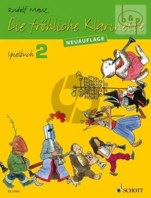 Die Frohliche Klarinette Vol.2 Spielbuch (Neuauflage)