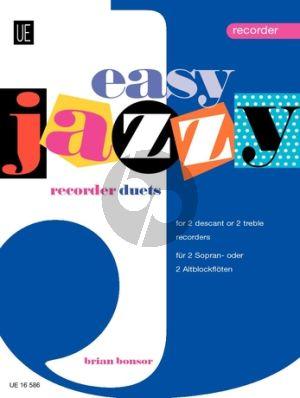 Bonsor Easy Jazzy Recorder Duets 2 Descant (or Treble) Recorder