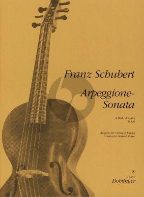 Schubert Sonate Arpeggione a-moll D 821 Violine und Klavier (E. Bayer)