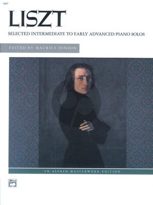 Liszt Selected Intermediate to Early Advanced Piano Solos (Edited by Maurice Hinson)