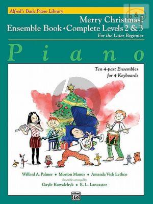 Merry Christmas Ensemble Book Complete Level 2 / 3