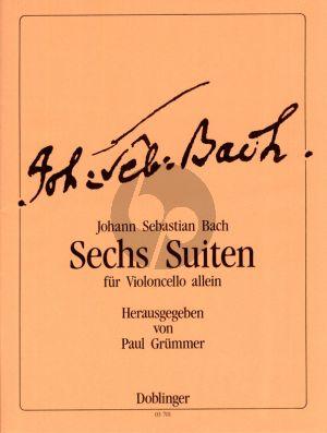 Bach 6 Suiten BWV 1007 - 1012 Violoncello (Paul Grummer)