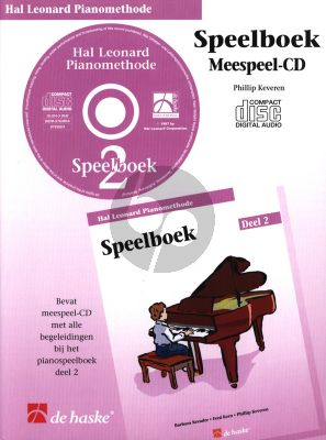 Piano Methode Vol.2 CD bij Speelboek (Alleen de Meespeel-Cd) (Barbara Kreader - Fred Kern - Phillip Keveren)