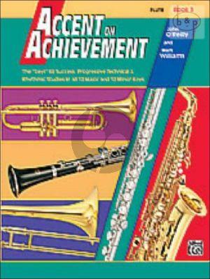 Accent on Achievement Vol.3 Flute