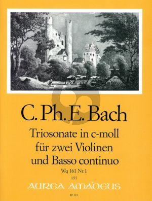 Bach Triosonate c-moll Wq 161 No.1 2 Violinen-Bc