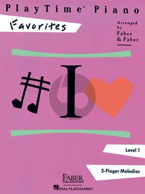 PlayTime® Piano Favorites Level 1