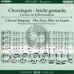 Requiem d-moll KV 626 Bass Chorstimme CD