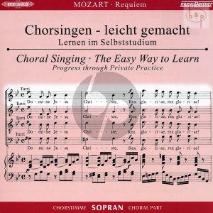 Requiem d-moll KV 626 Sopran Chorstimme CD