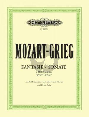 Mozart Fantasie-Sonate c moll KV 475-KV 457 (Grieg)