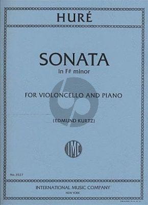 Sonata F-sharp minor Violoncello and Piano