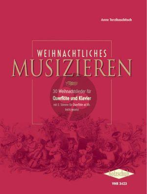 Weihnachtliches Musizieren (für Querflöte und Klavier)