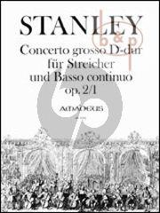 Concerto Grosso D-dur Op.2 No.1 (Streicher-Bc)