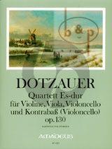 Quartet E-flat major Op.130 (Vi.-Va.-Vc.-Double Bass[Vc.]) (