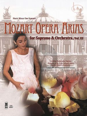 Mozart Opera Arias for Soprano and Orchestra Vol.3 (Bk-Cd) (MMO)