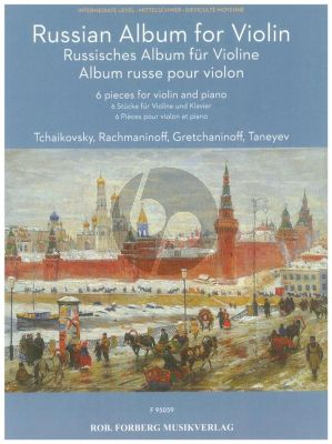 Russian Album for Violin