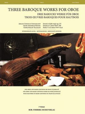 3 Baroque Works for Oboe