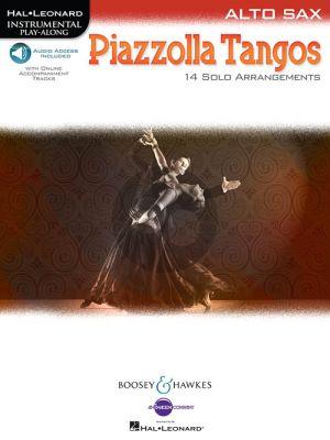 Piazzolla Tangos Alto Sax.