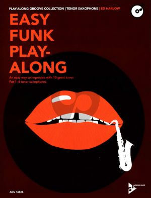 Easy Funk Play-Along Tenor Sax.