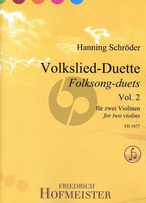 Volkslied Duette Vol.2