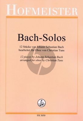 Bach Solos Oboe