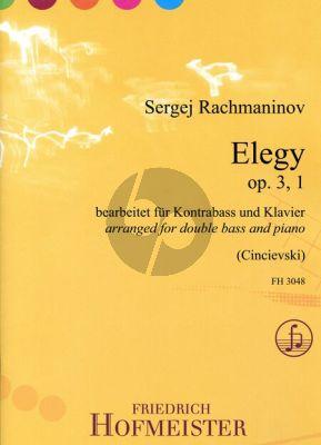 Elegy Op.3 No.1
