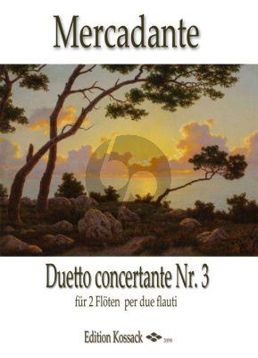 Duetto Concertante No.3