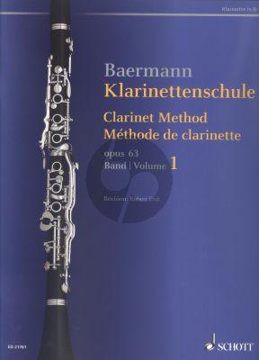 Klarinettenschule Op.63 Vol.1