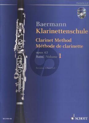 Klarinettenschule Op.63 Vol.1 Bk-Cd
