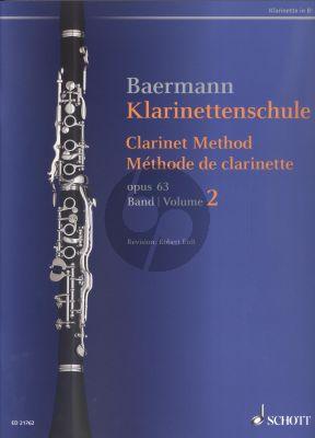 Klarinettenschule Op.63 Vol.2