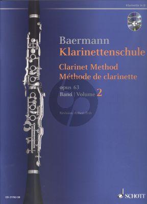 Klarinettenschule Op.63 Vol.2 Bk-Cd