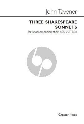 3 Shakespeare Sonnets
