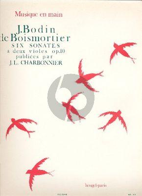 Boismortier 6 Sonates Op.10 2 Violes