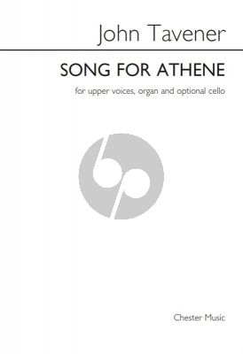 Songs for Athene SSAA-Organ