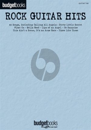 Bugetbooks Rock Guitar Hits