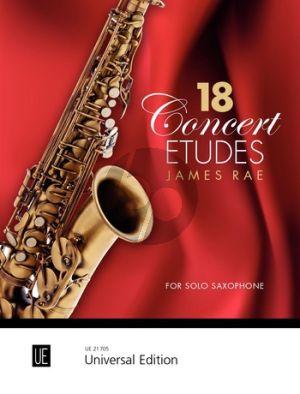 18 Concert Etudes