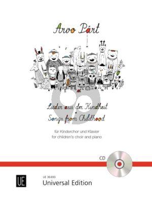 Songs from Childhood (Lieder aus der Kindheit) Children's Choir and Piano