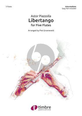 Libertango for 5 Flutes